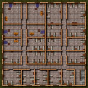 Wererat Den Gridded B 34x34