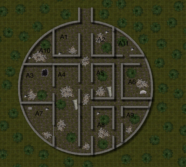 Shuzal Entrance Citadel Map