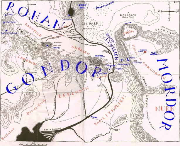 East_gondor_west_mordor_and_south_rohan
